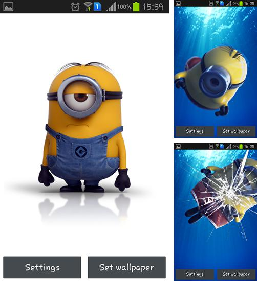 Download live wallpaper Despicable me 2 for Android. Get full version of Android apk livewallpaper Despicable me 2 for tablet and phone.
