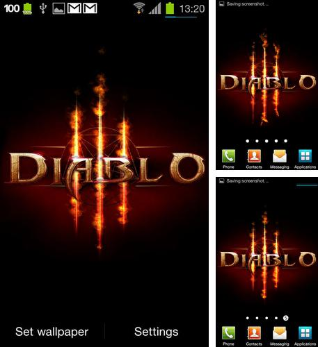 Download live wallpaper Diablo 3: Fire for Android. Get full version of Android apk livewallpaper Diablo 3: Fire for tablet and phone.