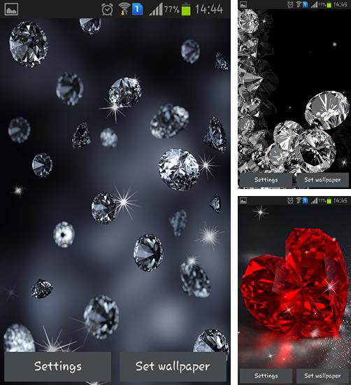 In addition to live wallpaper Sakura by Amax LWPS for Android phones and tablets, you can also download Diamonds for free.