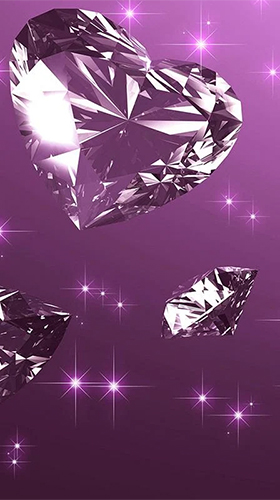 Diamonds by Pro Live Wallpapers