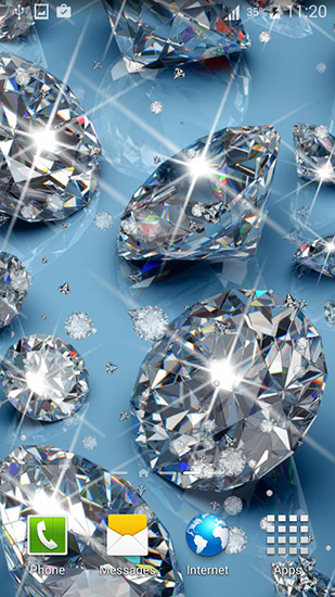 Download Diamonds for girls - livewallpaper for Android. Diamonds for girls apk - free download.