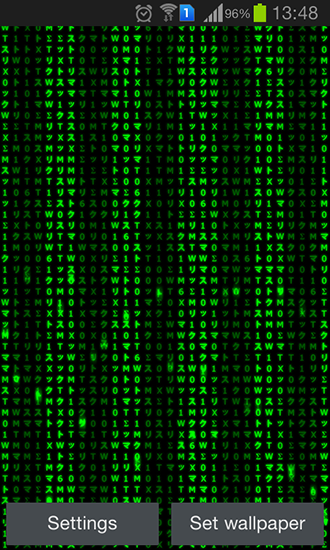 Digital Matrix Live Wallpaper For Android Free Download Tablet And Phone