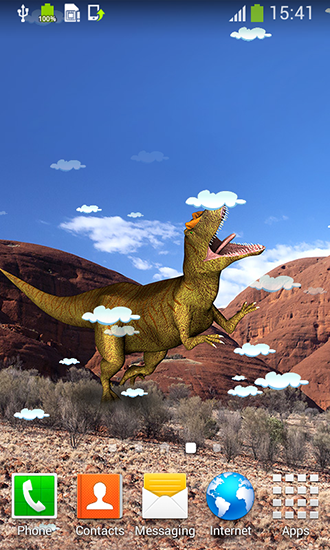 Dinosaur Live Wallpaper For Android Free Download Tablet And Phone