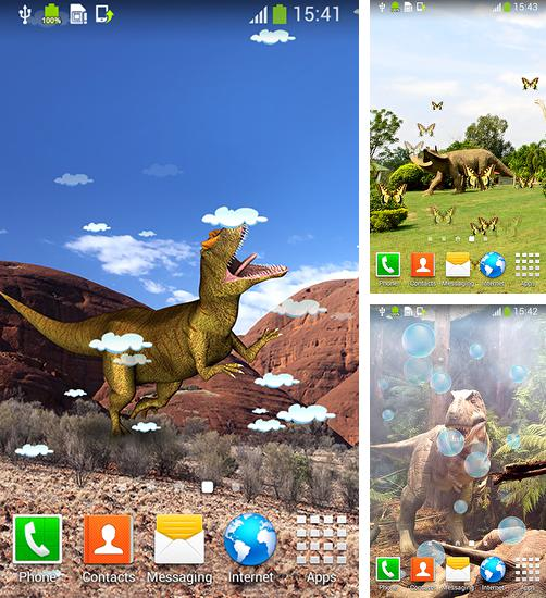 In addition to live wallpaper Raptor for Android phones and tablets, you can also download Dinosaur for free.