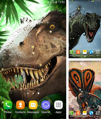 Dinosaurs by Dream World HD Live Wallpapers