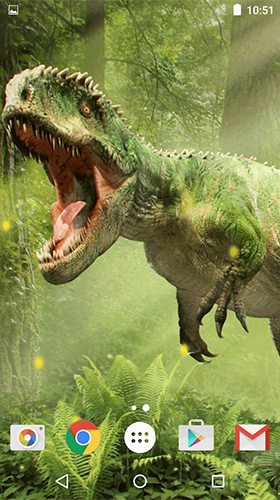 Screenshots von Dinosaurs by Free Wallpapers and Backgrounds für Android-Tablet, Smartphone.