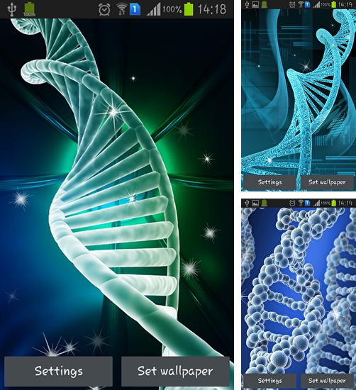 In addition to live wallpaper Peacocks for Android phones and tablets, you can also download DNA for free.