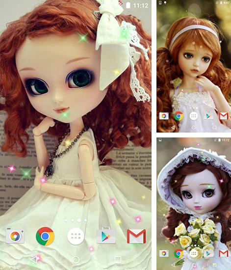 In addition to live wallpaper Paragliding for Android phones and tablets, you can also download Dolls for free.