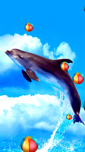 Dolphins by Latest Live Wallpapers