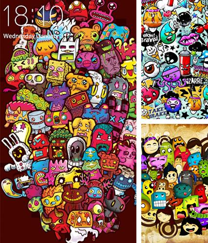 Download live wallpaper Doodle art for Android. Get full version of Android apk livewallpaper Doodle art for tablet and phone.