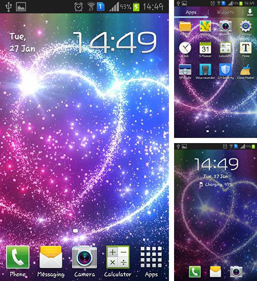 In addition to live wallpaper Gate of time for Android phones and tablets, you can also download Double heart for free.