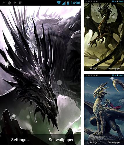 Descarga gratuita fondos de pantalla animados Dragón  para Android. Consigue la versión completa de la aplicación apk de Dragon by Best Live Wallpapers Free para tabletas y teléfonos Android.