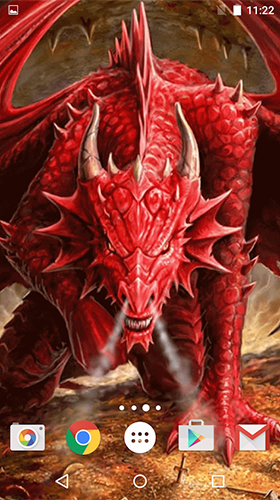 Dragon by MISVI Apps for Your Phone für Android spielen. Live Wallpaper Drache kostenloser Download.