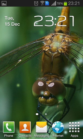 Download livewallpaper Dragonfly for Android. Get full version of Android apk livewallpaper Dragonfly for tablet and phone.