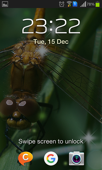 Screenshots of the Dragonfly for Android tablet, phone.