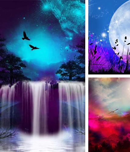 Download live wallpaper Dream sky for Android. Get full version of Android apk livewallpaper Dream sky for tablet and phone.