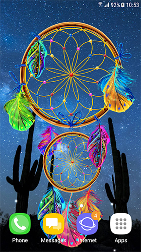 dreamcatcher by blackbird wallpapers live wallpaper for android