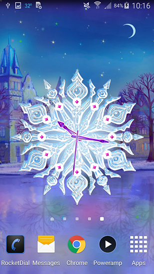 Dreamery clock: Christmas