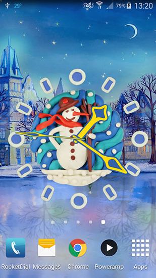 Геймплей Dreamery clock: Christmas для Android телефона.