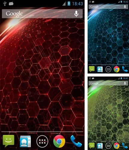Kostenloses Android-Live Wallpaper Droid Dna. Vollversion der Android-apk-App Droid Dna für Tablets und Telefone.