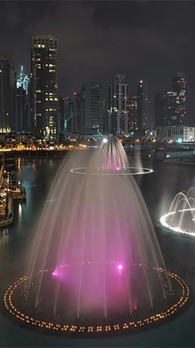 Download livewallpaper Dubai fountain for Android. Get full version of Android apk livewallpaper Dubai fountain for tablet and phone.