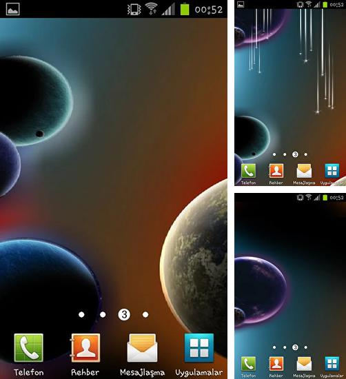 In addition to live wallpaper Cherry for Android phones and tablets, you can also download Dynamic space for free.