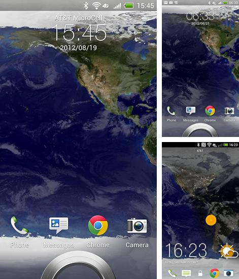 In addition to live wallpaper God of war for Android phones and tablets, you can also download Earth for free.