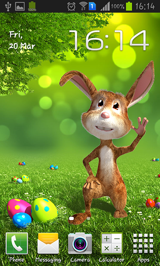 Download livewallpaper Easter bunny for Android. Get full version of Android apk livewallpaper Easter bunny for tablet and phone.