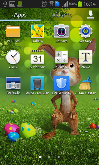 Download Easter bunny - livewallpaper for Android. Easter bunny apk - free download.