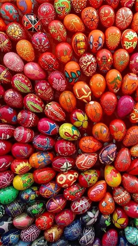 Capturas de pantalla de Easter by HQ Awesome Live Wallpaper para tabletas y teléfonos Android.
