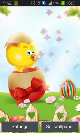 Screenshots of the Easter by My cute apps for Android tablet, phone.