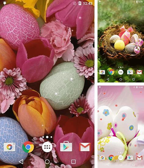 In addition to Easter eggs live wallpapers for Android, you can download other free Android live wallpapers for Samsung Galaxy Mega 5.8 I9150.