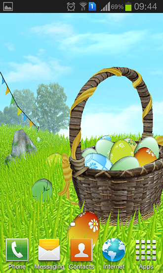 Easter Meadow Live Wallpaper For Android Easter Meadow