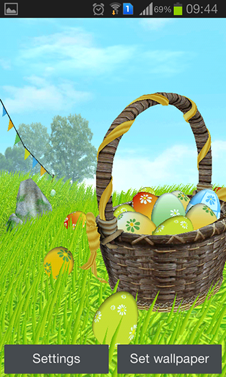 Download livewallpaper Easter: Meadow for Android. Get full version of Android apk livewallpaper Easter: Meadow for tablet and phone.