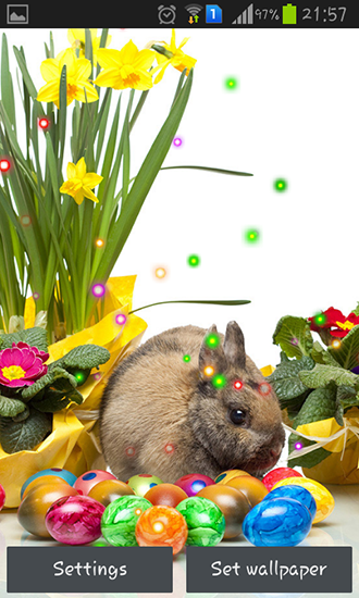 Screenshots of the Easter Sunday for Android tablet, phone.
