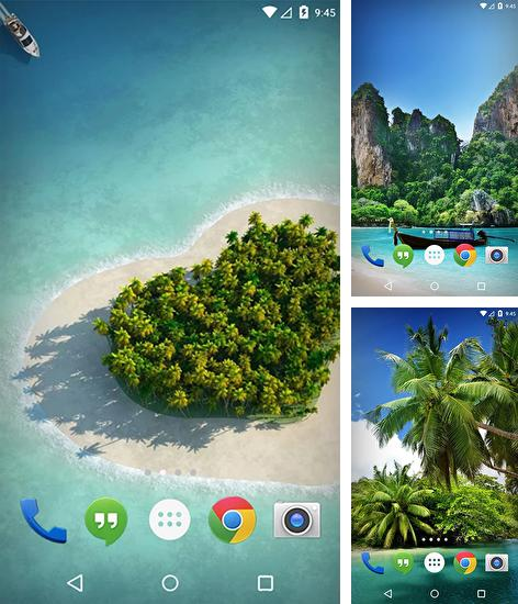 In addition to live wallpaper Winter cat for Android phones and tablets, you can also download Eden resort: Thailand for free.