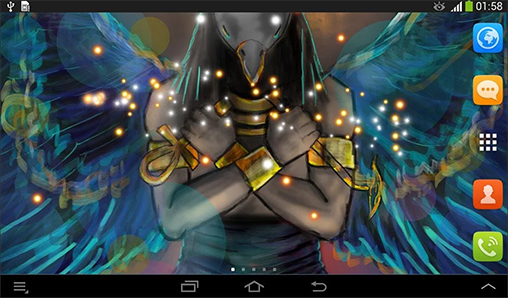 Screenshots of the Egypt for Android tablet, phone.