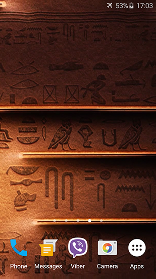 Egyptian theme pour android t l charger gratuitement for Theme d ecran