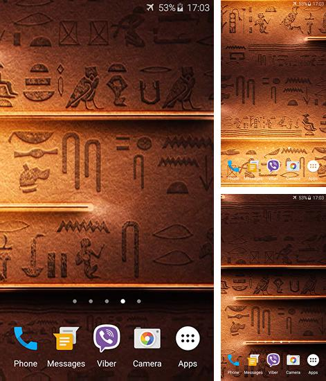 In addition to Egyptian theme live wallpapers for Android, you can download other free Android live wallpapers for Acer Liquid Zest.