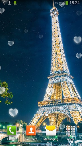 Eiffel Tower Paris Live Wallpaper For Android