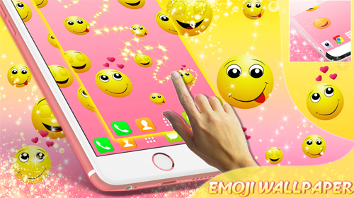 Emoji live wallpaper for Android  Emoji free download for