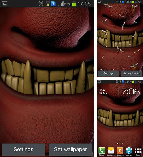 In addition to live wallpaper Thanksgiving by Holiday Wallpaper for Android phones and tablets, you can also download Evil teeth for free.