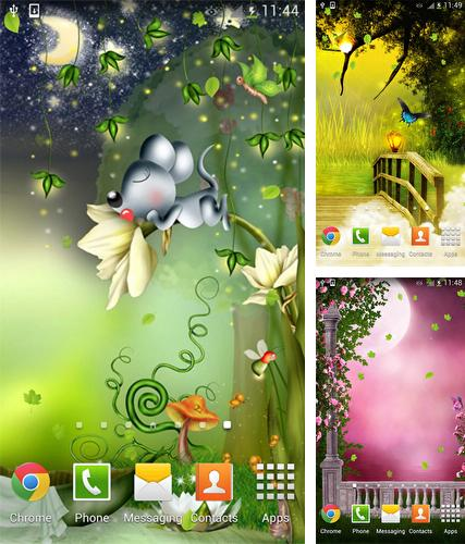 Download live wallpaper Fairy by orchid for Android. Get full version of Android apk livewallpaper Fairy by orchid for tablet and phone.