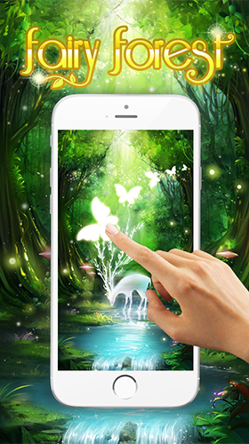 Kostenloses Android-Live Wallpaper Feenwald. Vollversion der Android-apk-App Fairy forest by HD Live Wallpaper 2018 für Tablets und Telefone.
