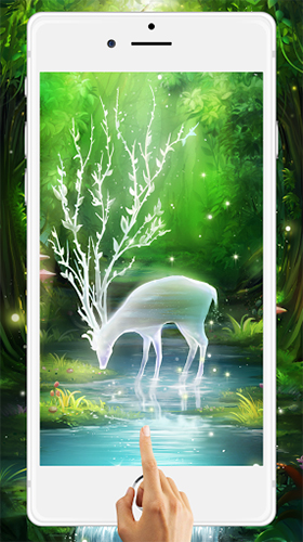 Screenshots Of The Fairy Forest By HD Live Wallpaper 2018 For Android Tablet Phone