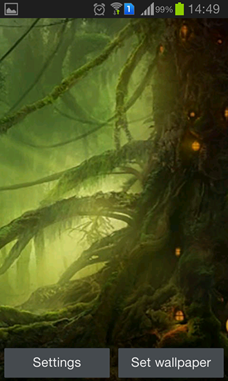 Screenshots of the Fairy forest by Iroish for Android tablet, phone.