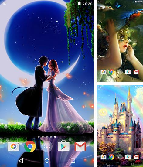 In addition to Fairytale live wallpapers for Android, you can download other free Android live wallpapers for Cubot X16.