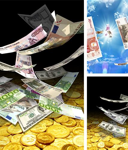 Download live wallpaper Falling money 3D for Android. Get full version of Android apk livewallpaper Falling money 3D for tablet and phone.
