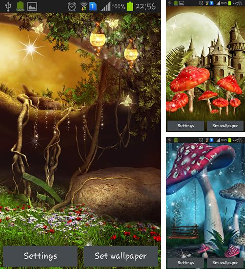 In addition to live wallpaper Pyramids 3D for Android phones and tablets, you can also download Fantasy for free.