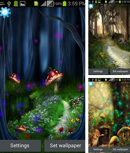 Download live wallpaper Fantasy magic touch for Android. Get full version of Android apk livewallpaper Fantasy magic touch for tablet and phone.
